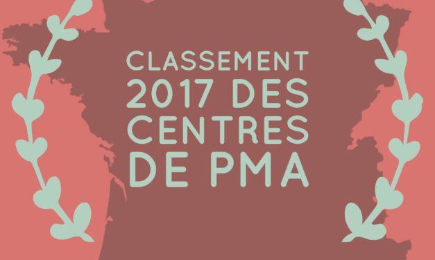 Classement 2017 des centres de PMA et FIV en France