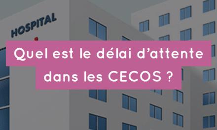 Quel est délai d'attente dans les CECOS ?
