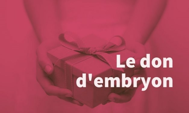 Le don d'embryon