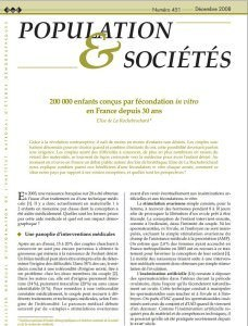 populatoin et societe