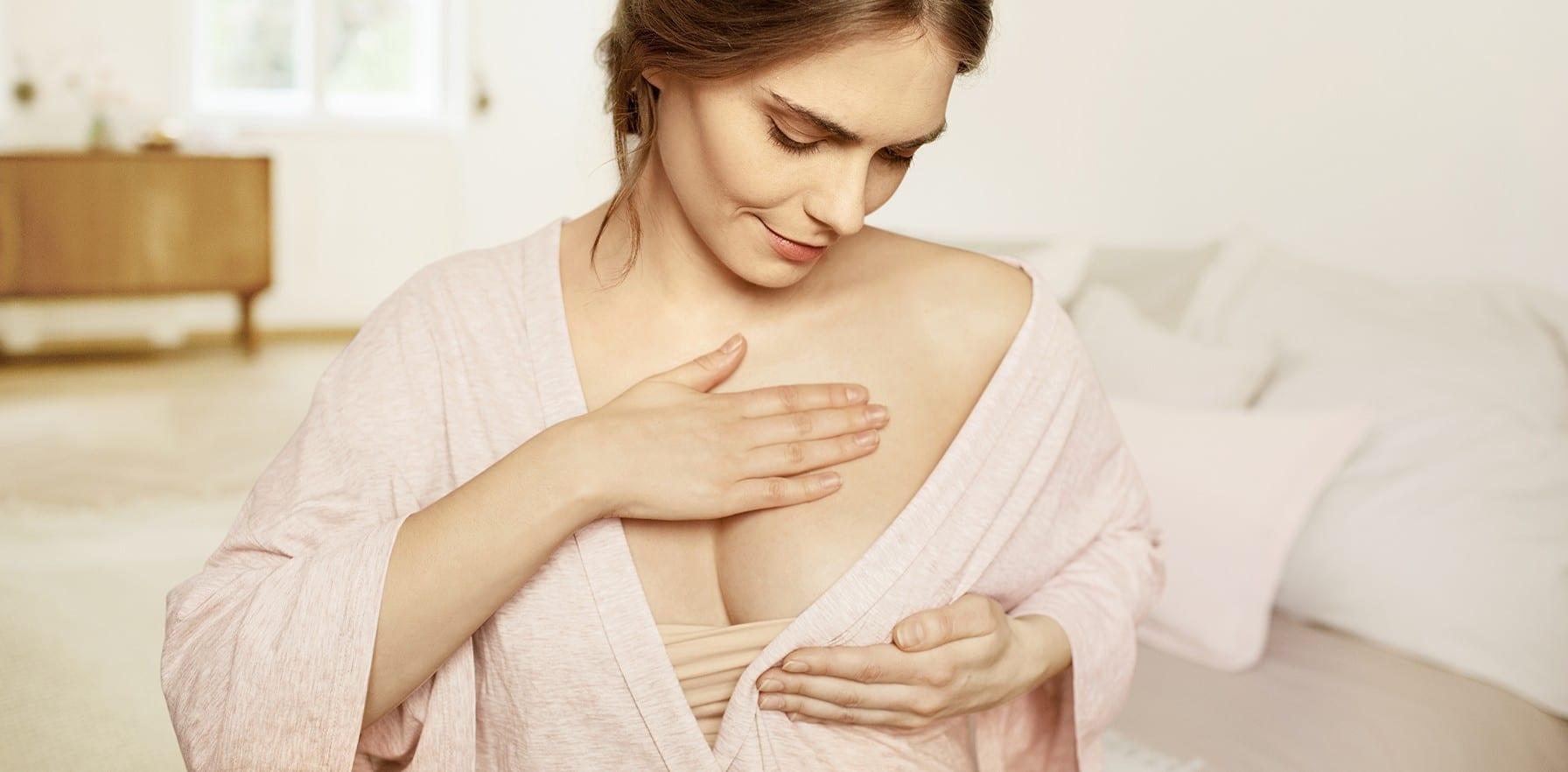 Comment savoir si je suis enceinte avec des seins plus sensibles ?