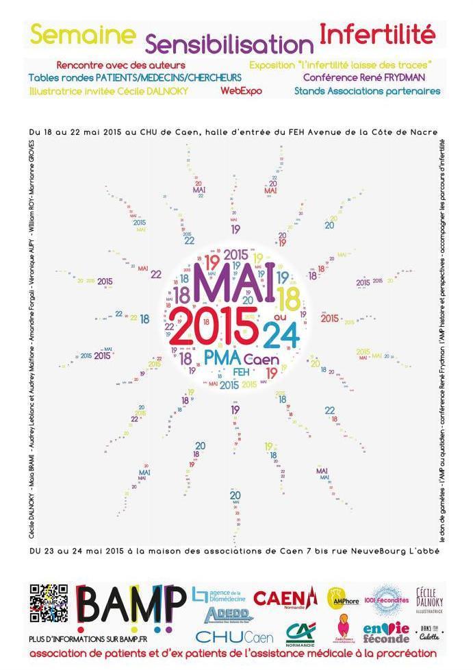 Semaine de Sensibilisation sur l'Infertilité du 18 au 24 mai 2015