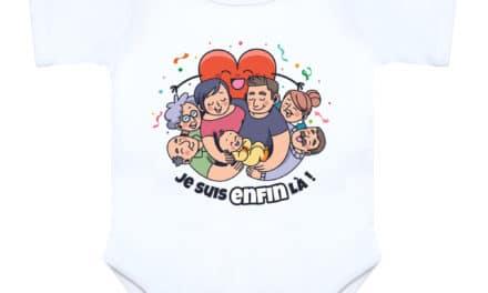 Body naissance bébé PMA «Je suis enfin la»
