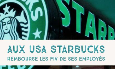 Aux USA, Starbucks rembourse les FIV de ses employés