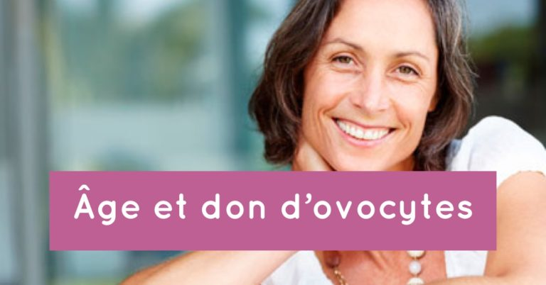 Age et don d'ovocytes