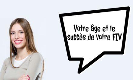 Age et succès de votre FIV