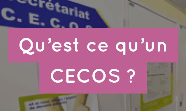 Qu'est ce qu'un CECOS ?