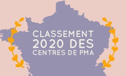 Classement 2020 des centres de PMA et FIV en France
