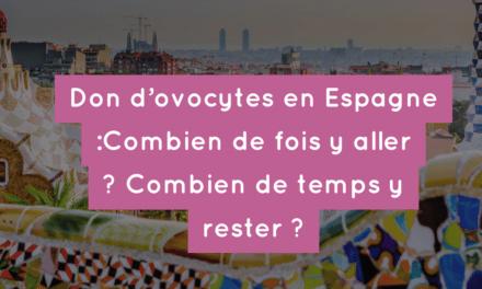 Don d'ovocytes en Espagne : Combien de fois y aller ? Combien de temps y rester ?