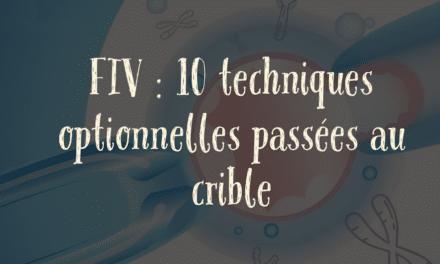 FIV : 10 techniques optionnelles passées au crible