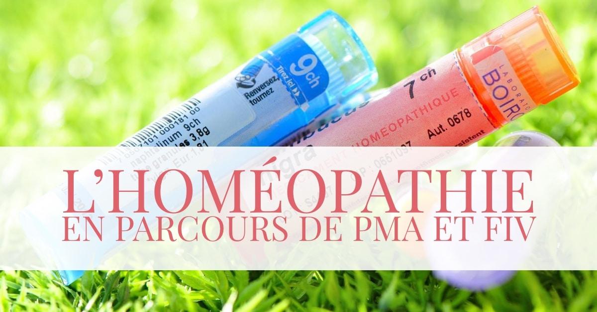 L'homéopathie en parcours de PMA et de FIV • Fiv.fr