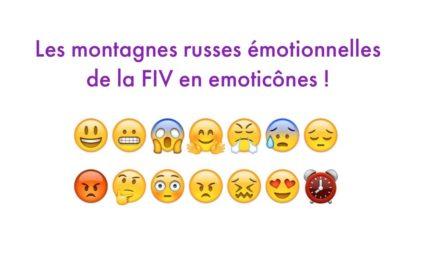 Les montages russes émotionnelles de la FIV en émoticônes !