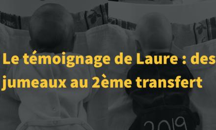 Témoignage de Laure : des jumeaux au 2ème transfert