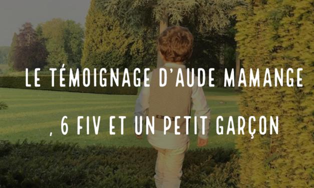 Le témoignage d'Aude, mamange, 6 FIV et un petit garçon