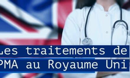 Les traitements de PMA au Royaume Uni